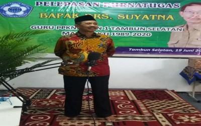 Purnatugas Bapak Drs. Suyatna